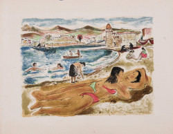 MEDITERRANEAN. LE ROY, Florian. -illustrated by VUILLERMOZ Limited edition copy 22/275