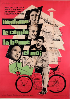 Movie Poster Advertising  Vittorio de Sica