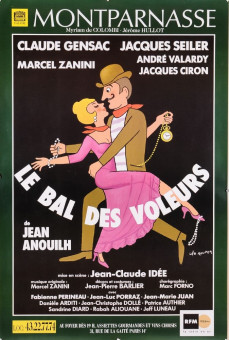 Posters Original Vintage French Movie Poster for  Mont Parnasse
