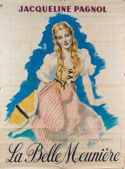 Original vintage French Poster for Jacqueline Paganol