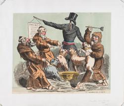 Original Antesemitic Vintage French Poster